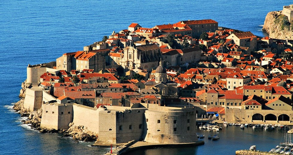 Croatia, Dubrovnik, Old City and cathedral